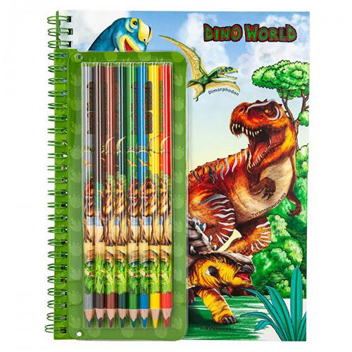 Maľovanka Dino World Blok 3341923