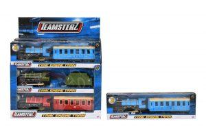 Teamsterz vlak s vagónom na batérie Alltoys 3765