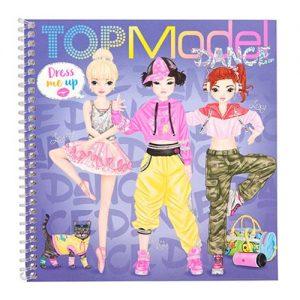 Blok Top Model Dance Dress Me Up