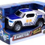 Teamsterz Policajné zásahové auto so zvukom