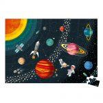Vzdelávacie puzzle Vesmír a slnečná sústava 100 ks Janod