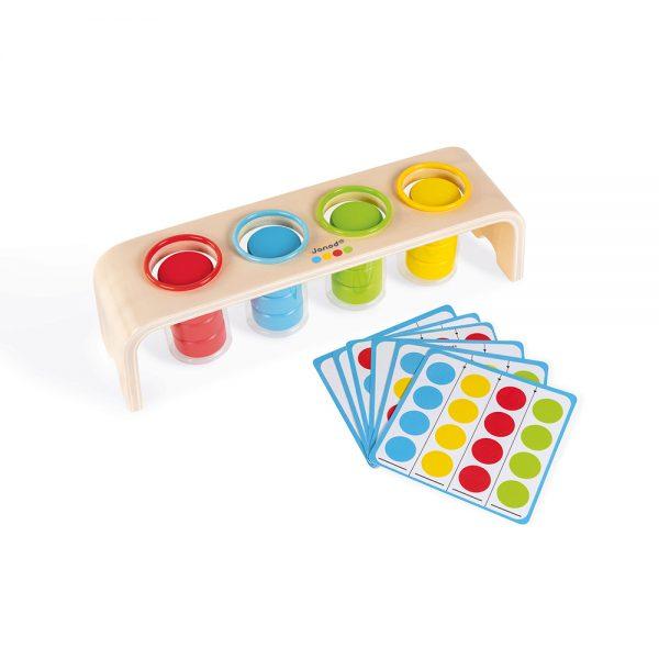Vkladanie a triedenie s predlohami séria Montessori Janod J05066