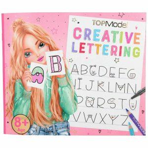 Maľovanky Kreatívne písma Top Model