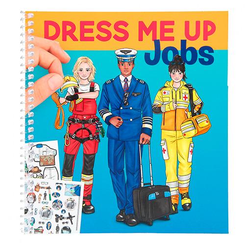 Kreatívny zošit Dress Me Up Jobs 3341909