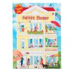 Kreatívny zošit so samolepkami Sweet Home Create your 3342968