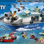 LEGO Policajná hliadková loď 60277