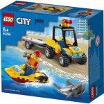 LEGO City Záchranná plážová trojkolka 60286