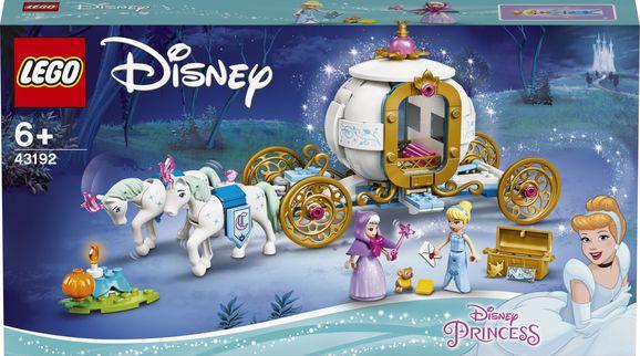 LEGO Disney Princess Popoluška a kráľovský kočiar 43192