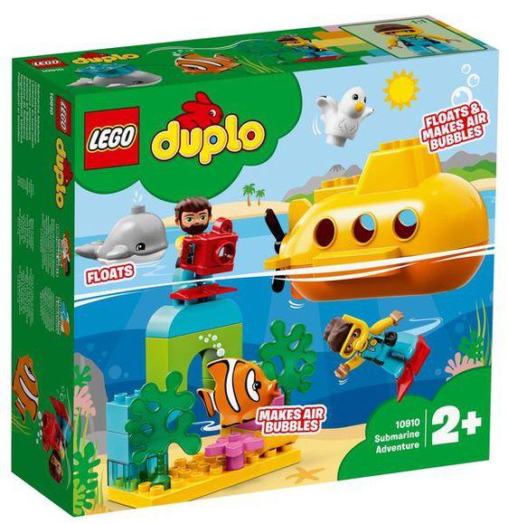 LEGO Duplo Dobrodružstvo v ponorke 10910