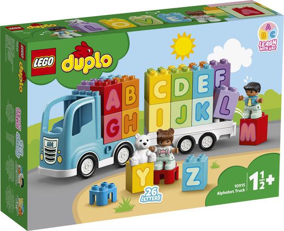 LEGO Duplo Nákladiak s abecedou 10915