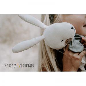 Zajac biely v darčekovej krabičke Picca Loulou