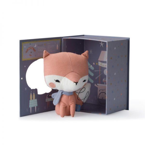 Líška ružová v darčekovej krabičke Picca Loulou